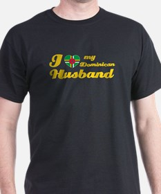 I love my Dominican Husband T-Shirt
