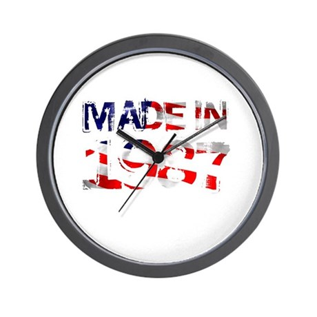 Made In USA 1987 Wall Clock