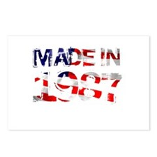 Made In USA 1987 Postcards (Package of 8)