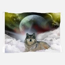 Wolf Cloud Pillow Case