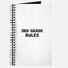 3rd Grade Rules Journal