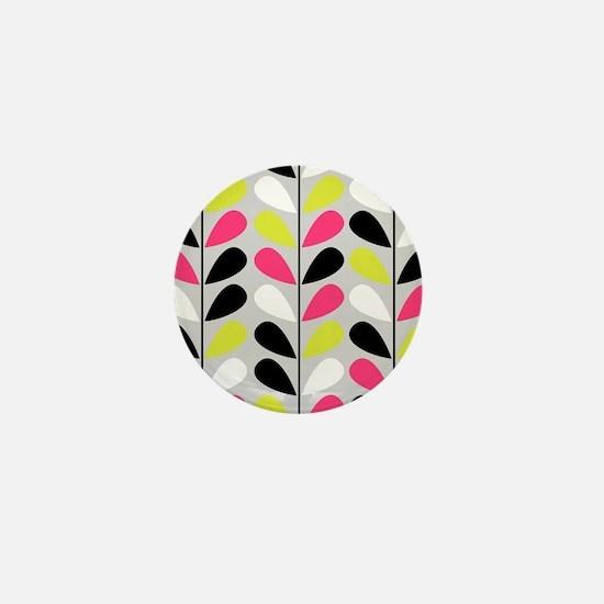 Retro Pattern Mini Button