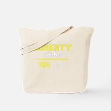 Cute Doherty Tote Bag