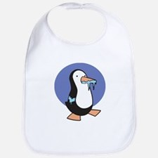 Silly Chilly Penguin Bib