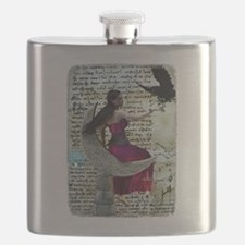 Raven's Daughter Flask