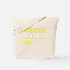 Unique Fowler Tote Bag