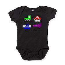 Funny Baby car Baby Bodysuit