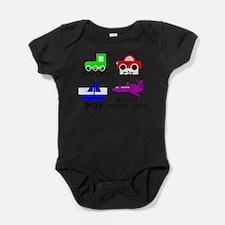 Funny Airplane toddler Baby Bodysuit