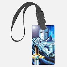 Blue Knight Luggage Tag