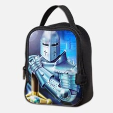 Blue Knight Neoprene Lunch Bag