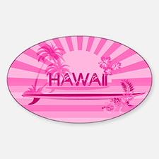pink hawaii Decal