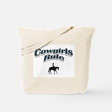 Cowgirls Rule Tote Bag