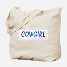 Cowgirl Blue Tote Bag
