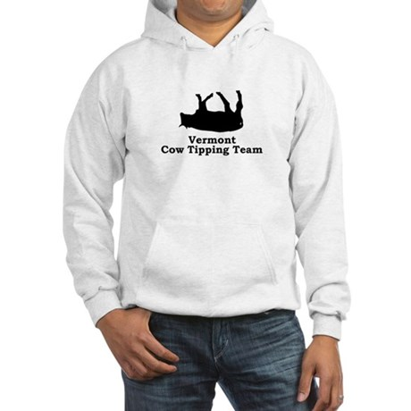 Vermont Cow Tipping Hooded Sweatshirt