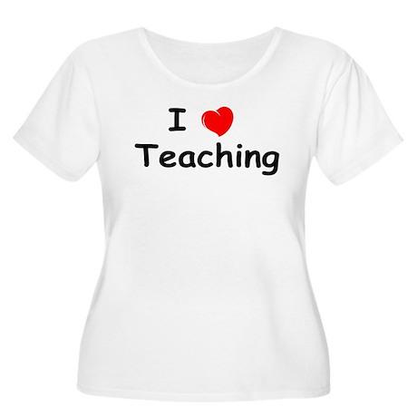 heart_teaching Plus Size T-Shirt