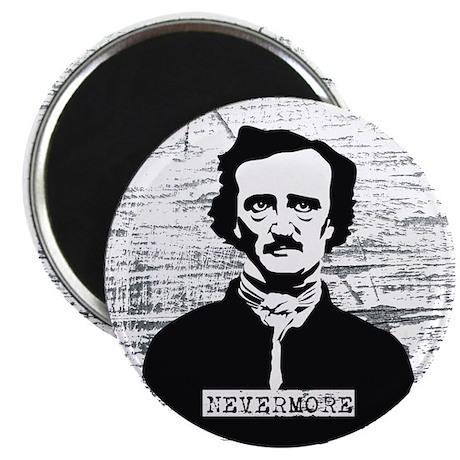 Nevermore Edgar Allan Poe Magnet