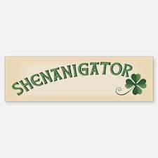 Shenanigator Bumper Bumper Sticker