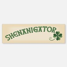 Shenanigator Car Car Sticker