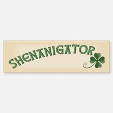 Shenanigator Sticker (Bumper)