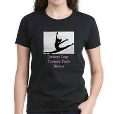 Dancers Leap Towards Their Dreams T-Shirt