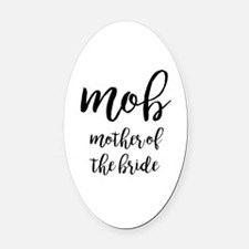Cute Mother of the groom Oval Car Magnet