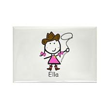 Cowgirl - Ella Rectangle Magnet