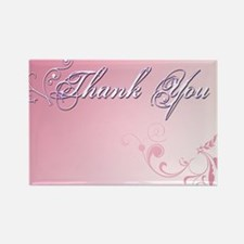 Thank You Cards Rectangle Magnet