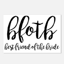 Cute Bridal party Postcards (Package of 8)