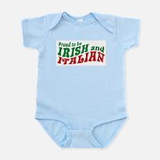 Proud to be Irish and Italian Infant Bodysuit