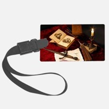 Medieval Still Life Luggage Tag