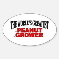 """""""The World's Greatest Peanut Grower"""" Decal"""