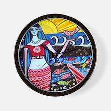 Mermaid Wall Clock