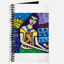 Mermaid Art - Heather Galler Folk Art Journal