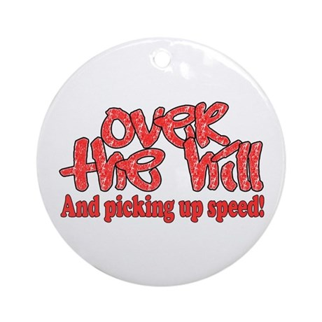 Over The Hill Ornament (Round)