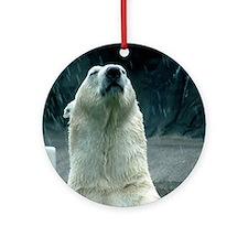 Polar Bear Ornament (Round)
