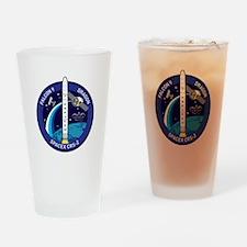 SpX 2 Logo Drinking Glass