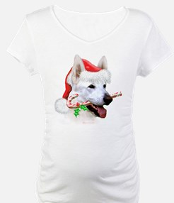 White Shep Christmas Shirt