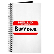 Hello My Name is Burrows Journal