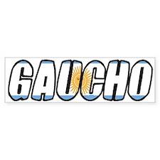 gaucho Bumper Bumper Sticker