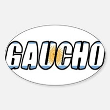 gaucho Oval Decal