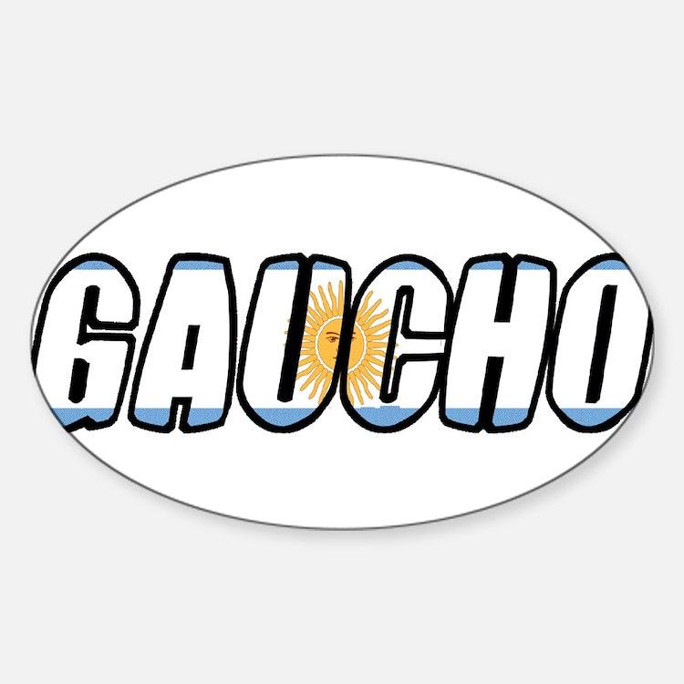 gaucho Oval Decal