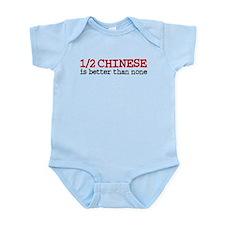 Half Chinese Infant Bodysuit