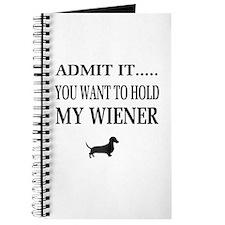 Hold My Wiener Dachshund Journal