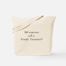 County Treasurer Tote Bag