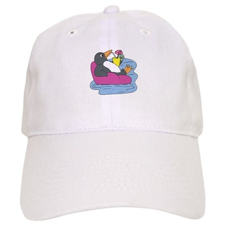 Penguin on Vacation Cap