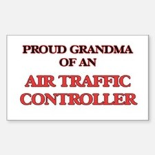 Proud Grandma of a Air Traffic Controller Decal
