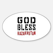 God Bless Kazakhstan Decal