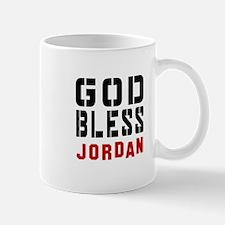 God Bless Jordan Mug
