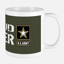 U.S. Army: Proud Sister (Military Green Mug