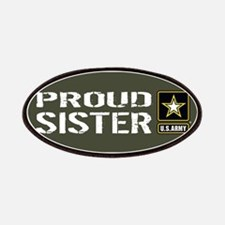 U.S. Army: Proud Sister (Military Green) Patch